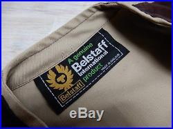 103 BELSTAFF INTERNATIONAL VEST WAISTCOAT ORIGINAL UNIQUE MADE IN ENGLAND size S