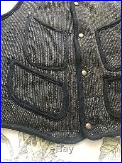 1930s 1940s Mens Vintage Browns Beach Cloth Vest 40
