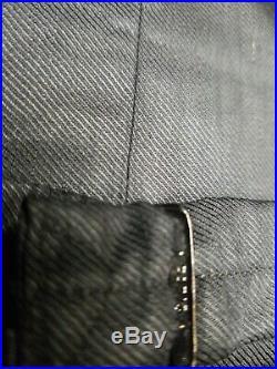 1930s French 2 Piece Wool Double Breasted Peak Lapel Blazer Jacket Vest Suit 38