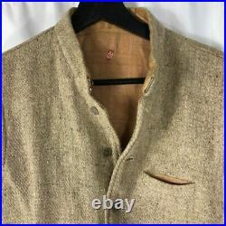 1930s French Wool Tweed Work Vest