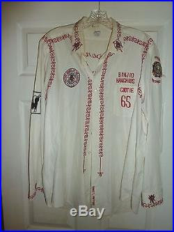 1950s Military Order of the Cootie vintage chain stitch shirt, vest & jewel hat
