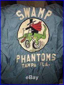 1960s SWAMP PHANTOMS MOTORCYCLE CLUB Colors VEST Original TAMPA FLORIDA VINTAGE
