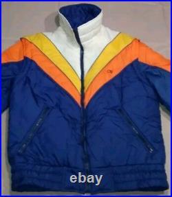 80's vintage OP OCEAN PACIFIC Parka Convertible Vest MEDIUM snowboard ski jacket