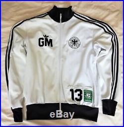 ADIDAS GERD MULLER DER BOMBER Veste Jacket Rare, Soccer, World Cup, Germany