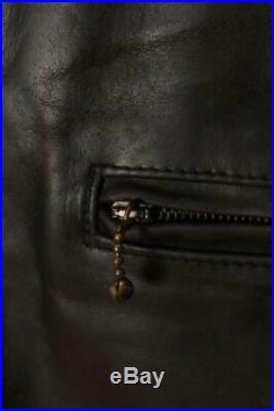 AERO Scotland HORSEHIDE'Highwayman' Leather Motorcycle Sports Jacket 44