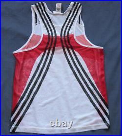 Adidas Deutschland Tank Top Shirt Olympic Athletics Vest Vintage Retro Sport 90s