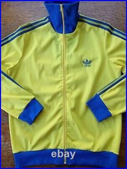 Adidas Vintage Jacket veste Made In France 70's, Création Ventex
