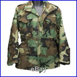 Alpha Industries M65 M-65 Field Jacket Coat Woodland Camo