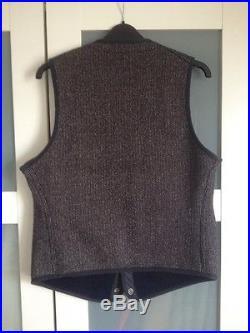 Anatomica Browns Beach Cloth Vest 38 Superdenim