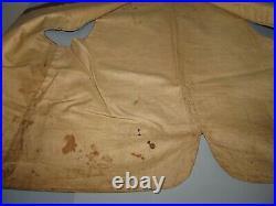Antique Mens Vest Waistcoat C. 1830 Floral Embroidery Outstanding Excellent