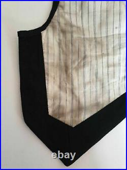 Antique Tuxedo Jacket & Waistcoat Chest 96 cm