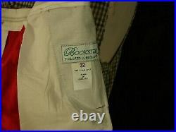 Bespoke Bookster Mens Tweed Waistcoat & Breeks Plus Fours Set 36 XS 32/ 33 W