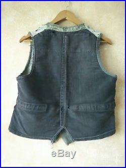 Boro Vintage Antique Visvim Kapital Japanese Vest Size S M