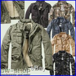 Brandit Jacke Britannia Winter + Futter Army Winterjacke Outdoor Armee Feldjacke