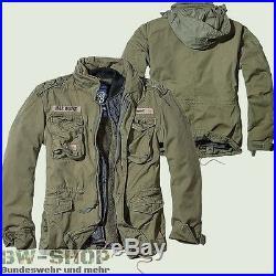 Brandit M65 Giant Feldjacke Oliv Neu Army Winterjacke Us Parka Outdoor Jacke