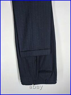 Brooks Bros. Vintage USA Golden Fleece Wool Suit with Vest 3 Btn 1 Vent 43 Long