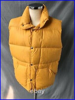 Brown Label Vtg The North Face Down Gillet Vtg Goose Down Vest Sz L