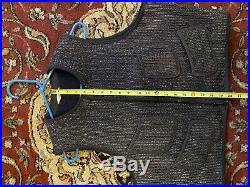 Browns beach vest vintage Size 42