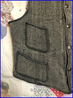 Early Browns Beach Vest Salt & Pepper Original Workwear Worcester Mass