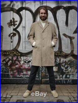 Erdmann Kleidung Herrenbekleidung Mantel Wolle 80s TRUE VINTAGE 80er wool coat