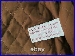Gorgeous VTG Banana Republic mill valley 100% leather Size Medium