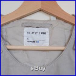 HELMUT LANG JEANS Ballistic Leather Vest ARCHIVE A/W 1998