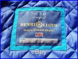 HENRI LLOYD Azzurro e Verde (Tg. L) NUOVO Serie Limited OLMES CARRETTI (PANINARO)