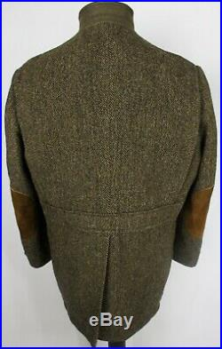 Harris Tweed Norfolk Jacket Country Shooting 48 1950's RARE VINTAGE GARMENT 2347