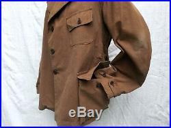 Jacket 40's Vtg French Hunting Jacket Vtg Hunting Coat 40's Veste Chasse Ancien