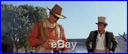 John Wayne styled Western shirt & Leather Vest COMBO, Rio Bravo Duke SASS Cowboy