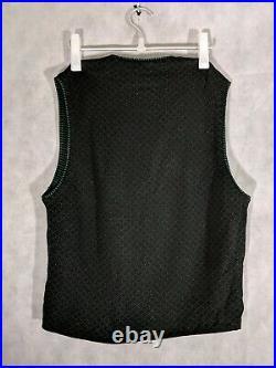 Kenzo Homme Vintage Archive Floral Button Sweater Vest