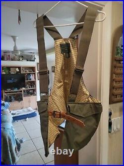 Kevin's Plantation Collection Game Bag Utility Vest Hunting Strap Leather