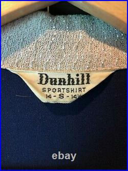 Killer Pink/Blue 1950's Vested Shirt JAC Two-Tone Cotton/Lurex Rockabilly VTG S