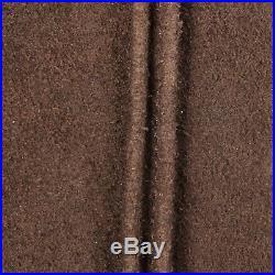L 1960s Vest Mens Mod Brown Leather Pink Lining Vest 1960s VTG Fall Clothing