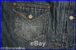 LVC Levi's 1897 Blanket-Lined Pleated Blouse Style Jacket 705792382 (L) Levis