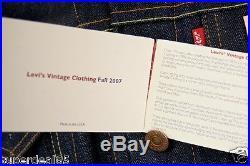 Levi's LVC 1967 Type 111 Deadstock Jacket Made in USA Levis Denim 2007 LVC Levi