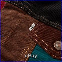 Levis Vintage Clothing Type III type 3 Corduroy Mash Up Trucker Jacket Large