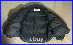 Made in USA Schott NYC Leather and Down Vest Jacket