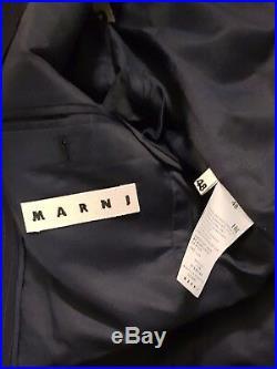 Marni Navy Pinstripe Wool Blazer Men. UK38 (IT48) Slim Fit. BNWT. RRP £1250