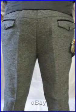 Men's Marc Darcy Designer Vintage Grey Tweed Herringbone Check Three Piece Suit