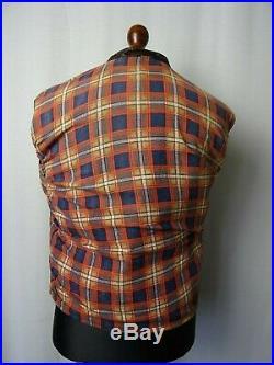 Men's Rare 1930's Vintage Horsehide Leather Luftwaffe Sports Jacket 40R (S)