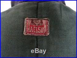 Men's Vintage 1940's WW2 German Horsehide Leather Luftwaffe Jacket 38R (S)
