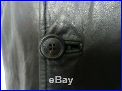 Men's Vintage 1990's Burberry Reefer Overcoat Jacket 38R (S)