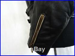 Men's Vintage WW2 German Leather Luftwaffe Jacket 38-40R Small