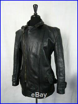 Men's WW2 Vintage 1940's German Horsehide Leather Luftwaffe Jacket 40R (S)