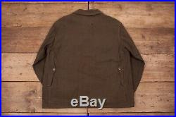 Mens Vintage Filson 40s Union Made Whipcord Wool Cruiser Jacket Large 44 HA 96