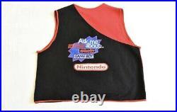 Nintendo Virtual Boy 1995 Vintage Vest And Hat Employee Uniform