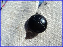 ORTEGA Chimayo Wool Vest MEDIUM Hand Woven Beige Black Red Gray Southwest EUC