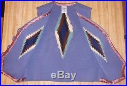 Ortega's Chimayo 100% Mens Handwoven Small Wool Vest Rare