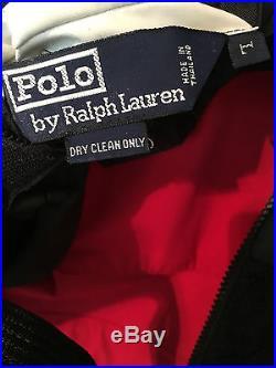 Polo Ralph Lauren RL2000 Reversible Hi-Tech Vest Large Mint vintage 1996 92 93